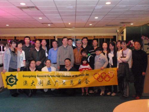 2010年5月冬日聚餐,欢迎新会员