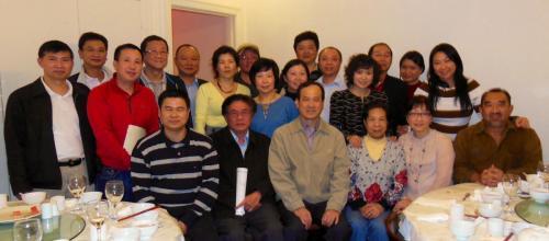 2013年商会会员为四川地震筹款