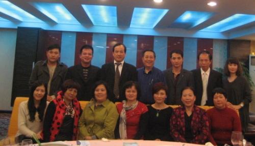 2013年李康校会长与湛江市企业家协会
